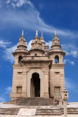 vihara: Modern Mulagandhakuti Vihara temple, sarnath