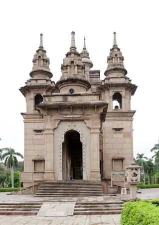 sarnath: Modern Mulagandhakuti Vihara temple, sarnath
