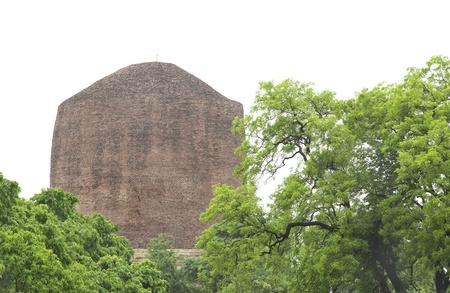 A beautiful view of the Dhamekh Stupa, Sarnath Stock Photo - 17429993
