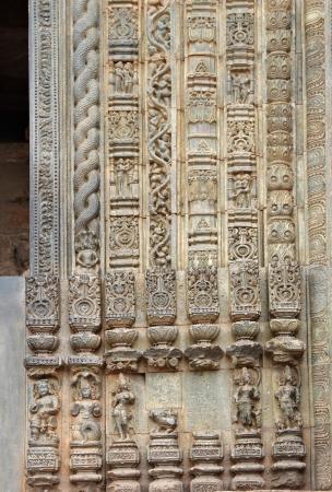 door casing: Beautiful carvings and designs on the frame of the main door, Sun Temple Konarak