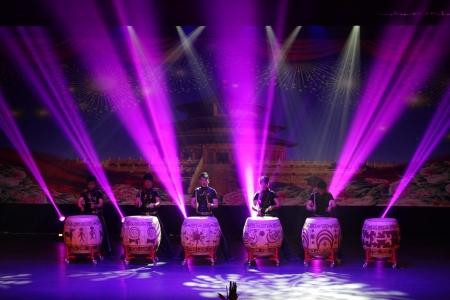 mesmerising: MANAMA, BAHRAIN - APRIL 27: China Modern Youth Orchestra performs on APRIL 27, 2013, during the Manama Captial of Arab Tourism 2013 celebration at Manama, Bahrain Editorial