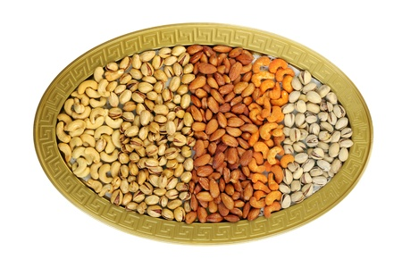 dry fruits: Dry fruits, a top view