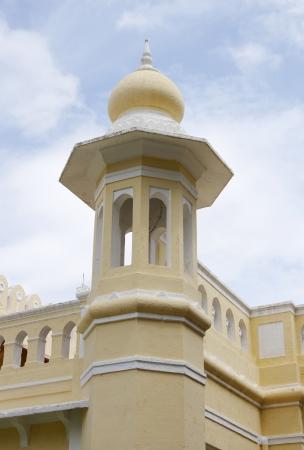 rajput: A tower near Southern entrance of Mysore palace