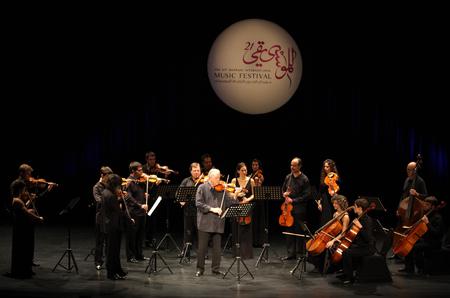 MANAMA, BAHRAIN - OCTOBER 05  Orquesta De Camara Reina Sofia performs on October 05, 2012 in Bahrain on the occasion of the 21st Bahrain International music festival