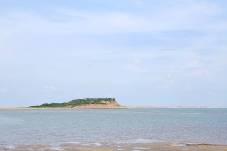 chilika: A beautiful island in chilika lake, Orissa, india Stock Photo