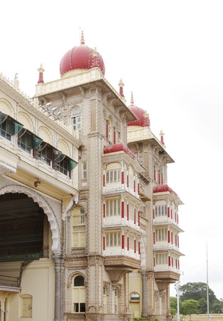 storied: Northern towers of Mysore palace