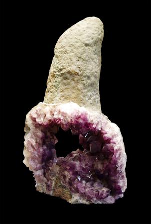 crystallize: Beautiful purple quartz crystal, Amethyst
