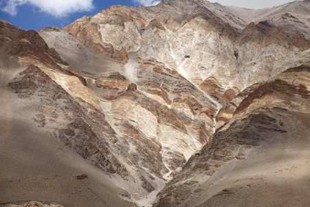 banding: Beautiful banding in the ophiolite melange & mafic volcanic rocks, Ladakh