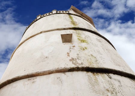 aguada: Top view of the lighthouse of Aguada Fort