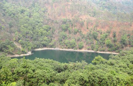 tal: Beautiful Garud tal in the mid of dense Forest