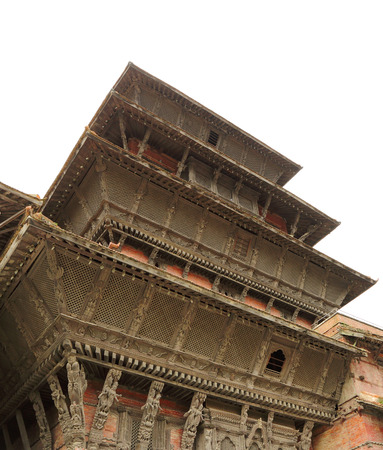 closed community: Beautiful ancient tower of Hanuman dhoka durbar