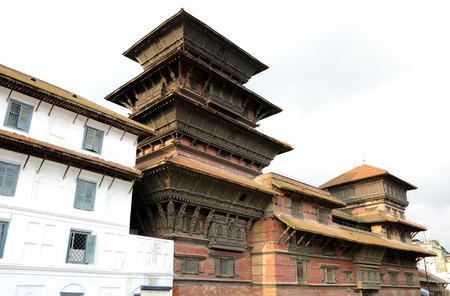 closed community: Basantpur tower at Hanuman dhoka durbar