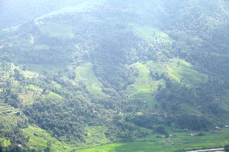 pokhara: Misty Pokhara valley