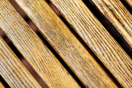 inclined: Beautiful inclined wooden strip texture Stock Photo