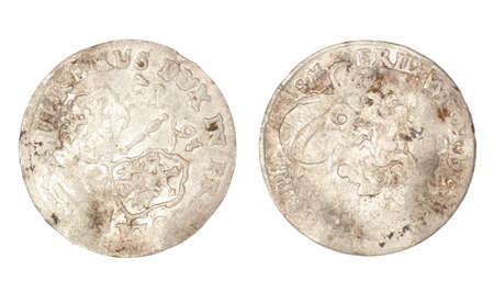 The old coin of Polish-Lithuanian Commonwealth 1682