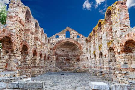 The Church of Saint Sofia in ancient city of Nessebar, Bulgaria Stock Photo