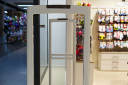 Scanner entrance gate for prevent theft in clothing store