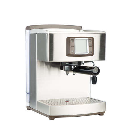Modern coffee machine with steam milk frother - is a device for emulsifying milk for preparing beverages on the basis of espresso