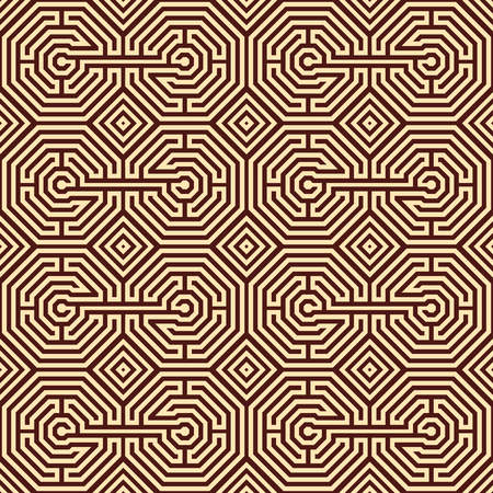 Seamless Labyrinth Pattern Saved In Swatches Royalty Free Cliparts Cool Labyrinth Pattern