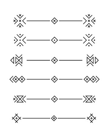 Vector set of calligraphic and  graphic design elements (text divider, pattern, monogram, curlicues, flower) for page decoration, Greeting Cards (wedding, Valentines day, birthday, holidays).