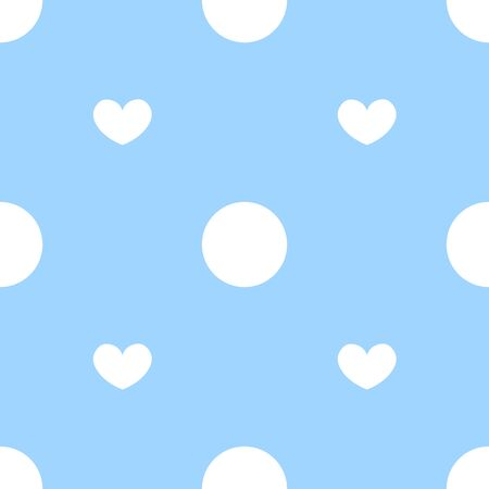 Repeats the picture of the heart, heart background. It used to design greeting cards, stationery, fabric prints, posters and banners