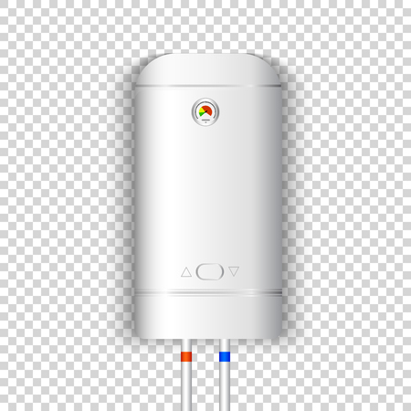 White Gas Boiler Electric Water Heater With Controller And Indicator ...