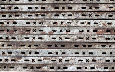 rust covered: old rusty metal plate background texture Retro Stock Photo