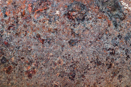 Oxidized metal surface making an abstract texture, high resolution. photo