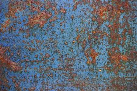 oxidized: Oxidized metal surface making an abstract texture, high resolution.