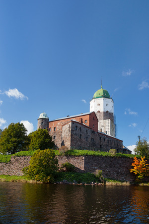 vyborg: St Olov castle, medieval Swedish castle in Vyborg, Russia