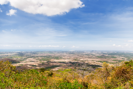 by cu: Impressive landscape from Ta Cu mountain, Binh Thuan province, Vietnam. Panorama view on sunny day.
