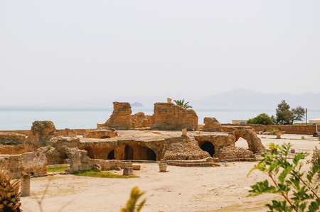 ancient civilization: Carthago (Carthage), ruins of capital city of the ancient Carthaginian civilization.
