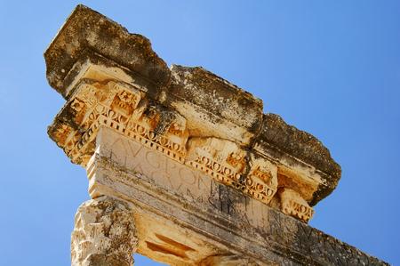 ancient architecture: Dougga, Roman Ruins.
