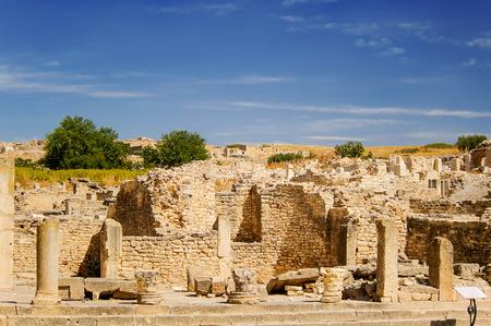 tiers: Dougga, Roman Ruins.