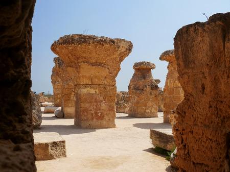 civilization: Carthago (Carthage), ruins of capital city of the ancient Carthaginian civilization.
