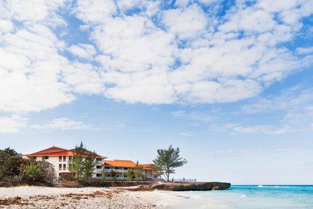 varadero: Tourists relax on Varadero sandy beach. Cuba. Editorial