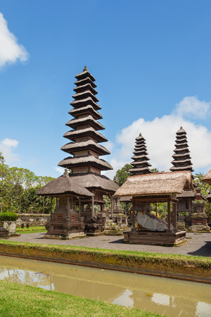sacral: Taman Ayun Temple, a royal temple of Mengwi Empire located in Mengwi, Badung regency that is famous places of interest in Bali. Indonesia.