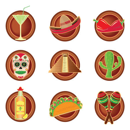enchiladas: mexico icons
