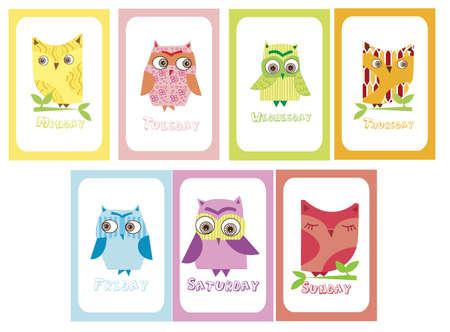 weekdays: Owls