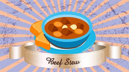 Beef stew Çizim