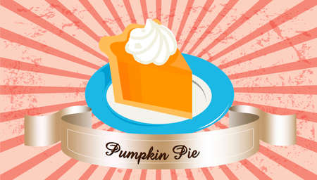 pumpkin seeds: pumpkin pie Illustration