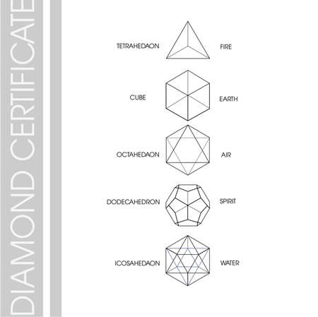 Cube diamond shape