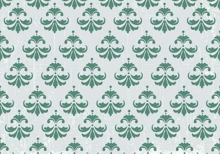 flower white: Vintage pattern