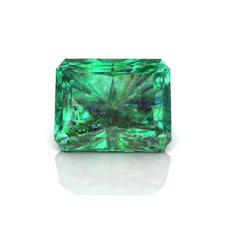 Green Emerald cutting  Stok Fotoğraf