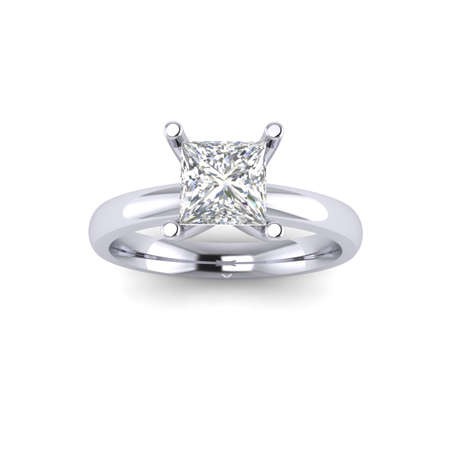 Princess Diamond ring Stok Fotoğraf - 29468984