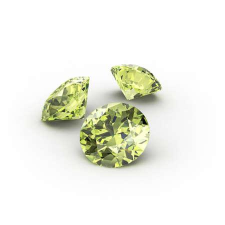 Green Peridot