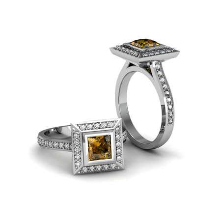 topaz: Topaz yellow ring