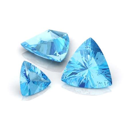 trilliant: Blue Topaz Trilliant