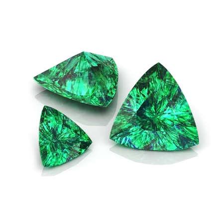 Emerald Trilliant Stok Fotoğraf - 30170053