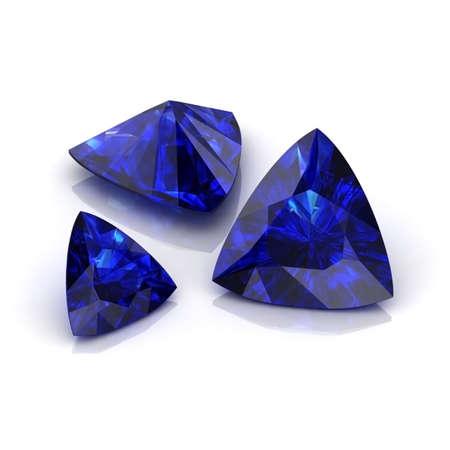 trilliant: Blue Sapphire Trilliant